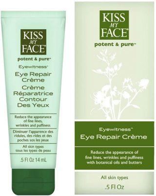 Kiss My Face's eyewitness eye repair creme