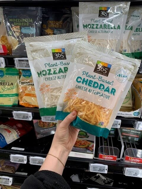 Whole Foods Plant-Based Cheese Alternative