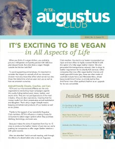 Augustus Club Issue 72 Front Cover Page