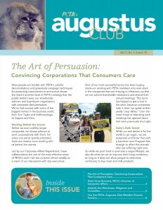 Augustus Club Issue 75 Front Cover Page