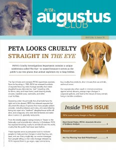 Augustus Club Issue 76 Front Cover Page
