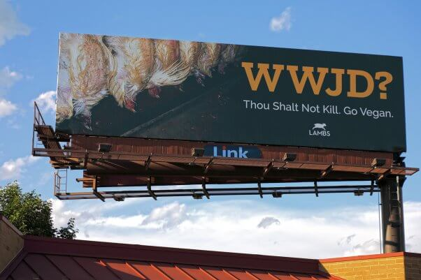 Chick Fil A What Would Jesus Do Omaha Billboard Ad