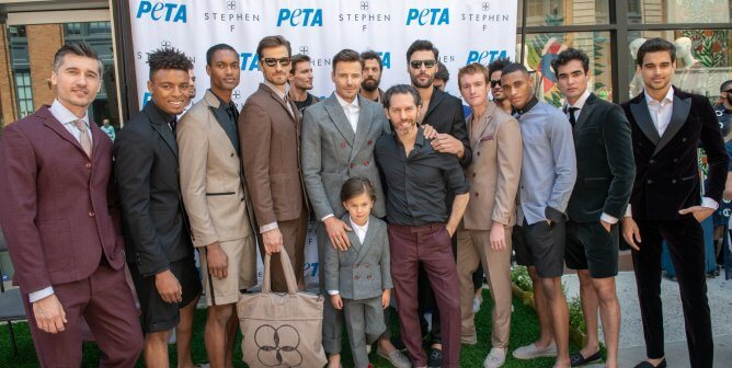 PETA and Stephen F's Vegan Suit Collection Is Ruling Fashion Week
