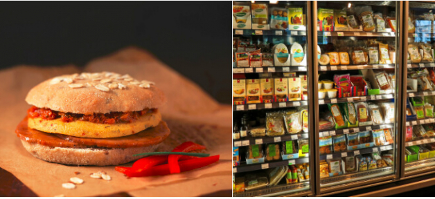 vegan frozen food: featured