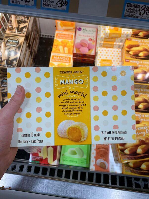 Trader Joe's Vegan Mango Mini Mochi