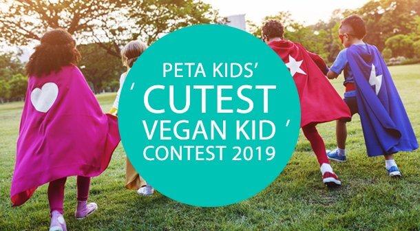 PETA Kids' Cutest Vegan Kid Winner and Runner-Up!