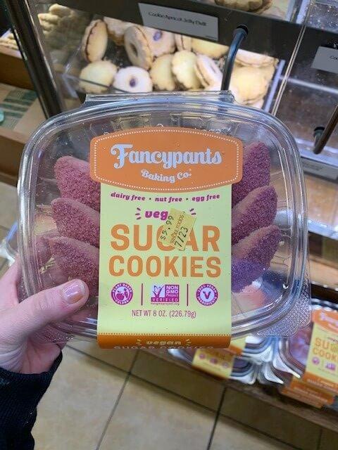 Fancypants Baking Co. vegan sugar cookies