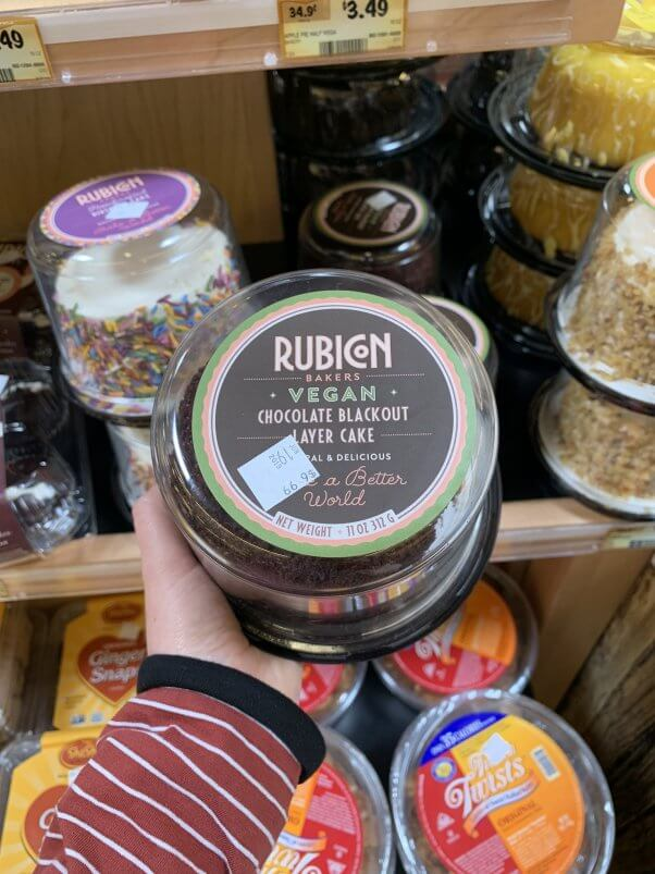 Image of Rubicon Bakers Vegan Chocolate Blackout Cake at Sprouts