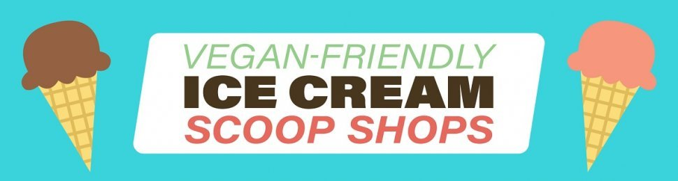 vegan ice cream banner