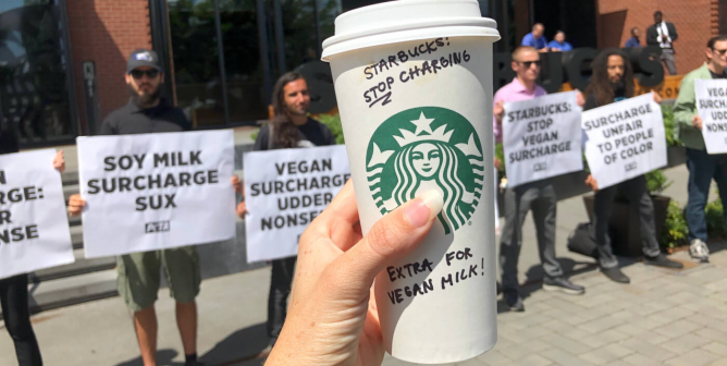 People Want Starbucks to Stop Charging Extra for Vegan Milk