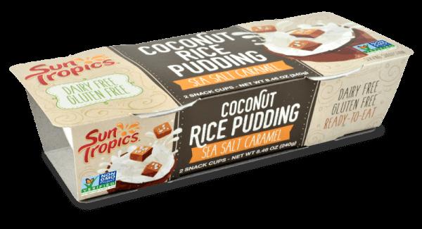 vegan coconut rice pudding from sun tropics