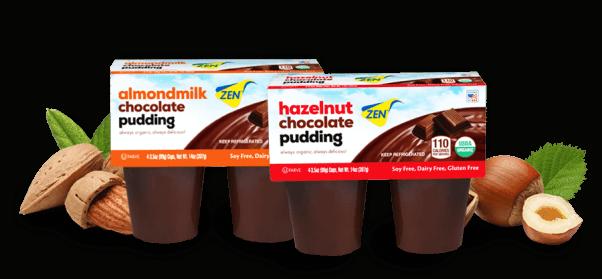 zen brand vegan pudding