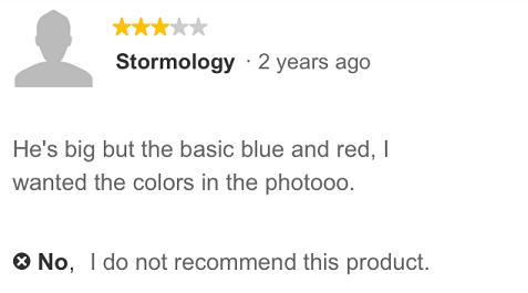 Poor Review of Petco Betta Fish