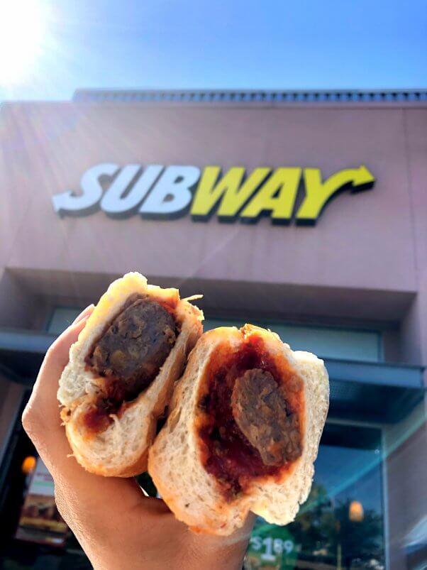 Beyond Meatball Marinara Subs Have Landed at Subway | PETA