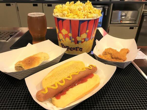 Vegan movie theater snacks at Laemmle theaters in Los Angeles