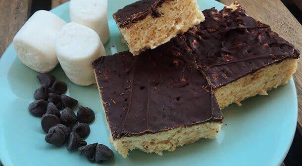 Chocolate-Dipped Crispy Treats