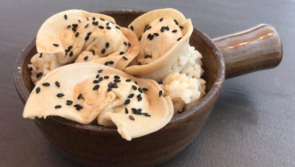 Sweet Potato & Tofu Dumplings