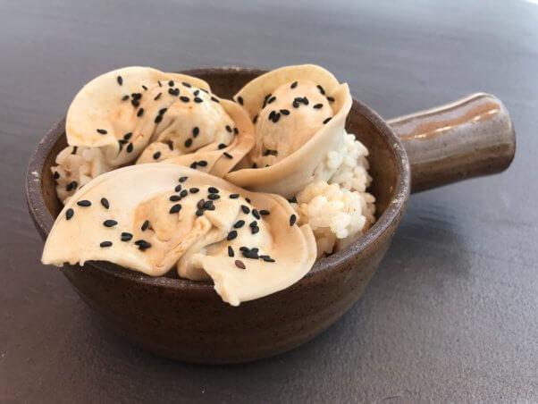 Asian-style dumplings