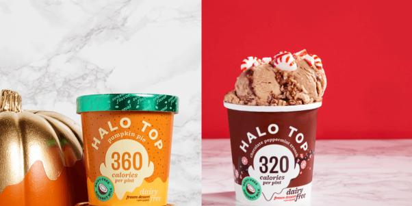 Halo Top Vegan Ice Cream