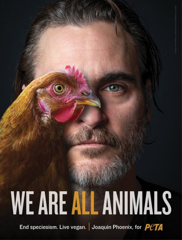 Joaquin Phoenix We Are All Animals Ad