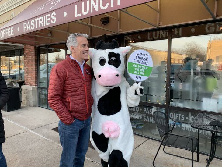 climate change cow