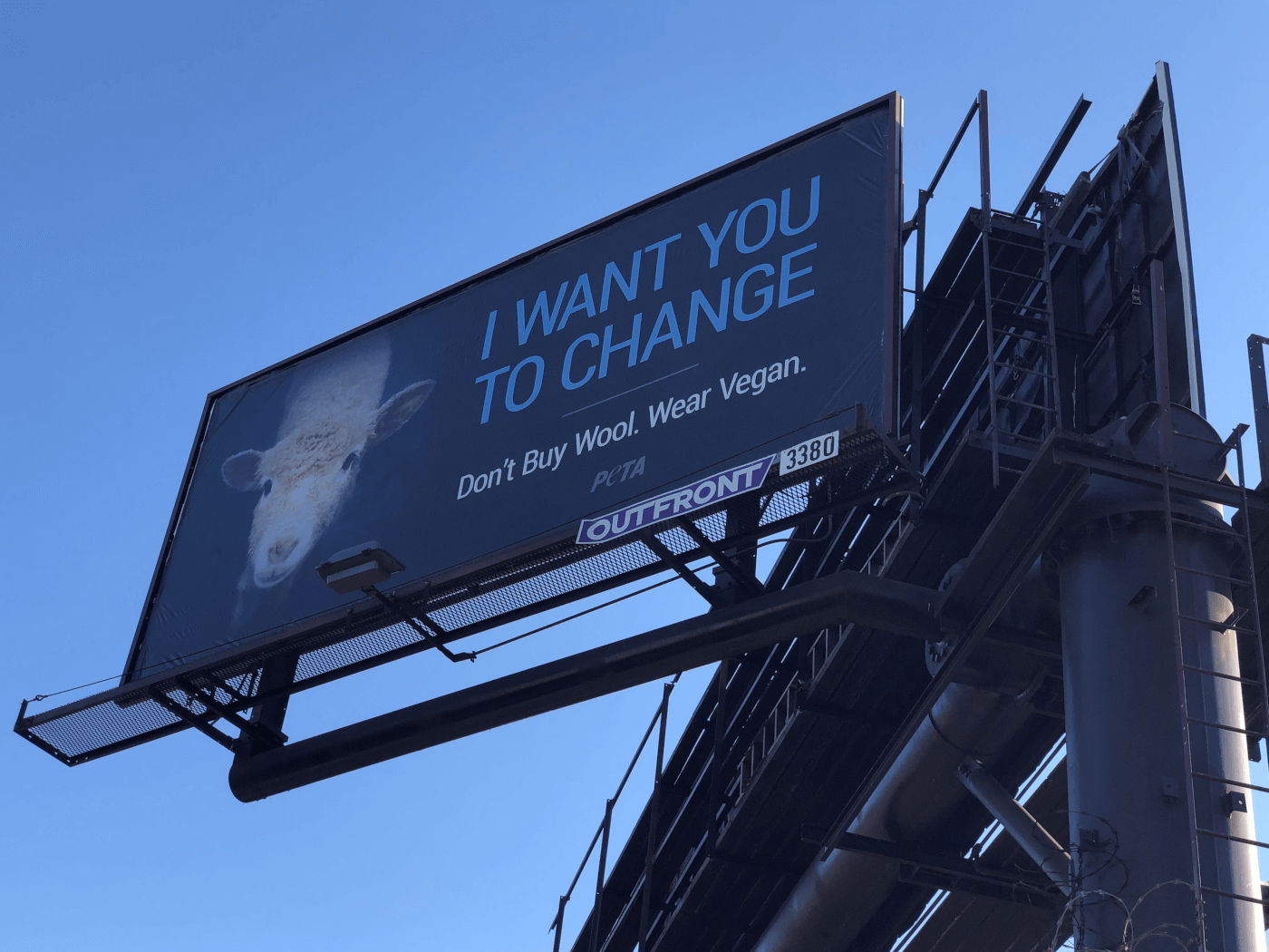 i want you to change billboard in los angeles