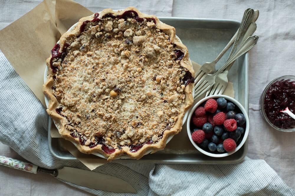 Vegan Pie Berries
