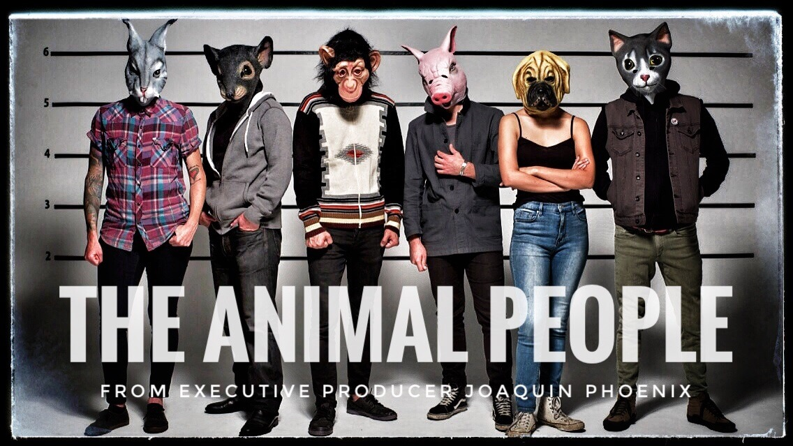 The Animal People Documentary Poster Art