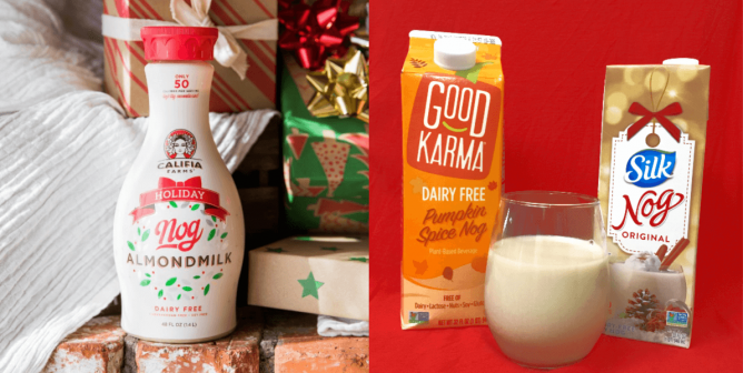 Vegan Eggnog and Other Store-Bought Holiday Drinks to Enjoy This Season