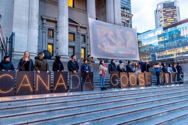 PETA Canada Goose Campaign