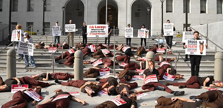 Santa Anita Protests