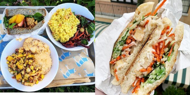 Vegan Sandwiches, Salads, and More at Mendocino Farms