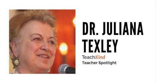 Teacher Spotlight: Meet Dr. Juliana Texley