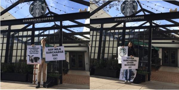 Students Demo Starbucks CA
