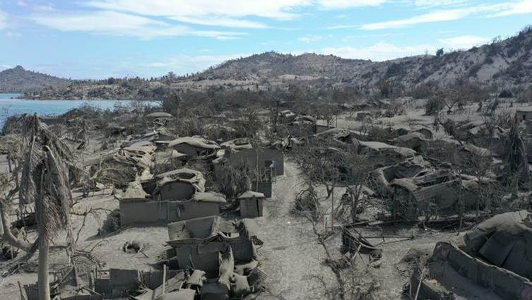 The devastation in the wake of Taal volcano eruption