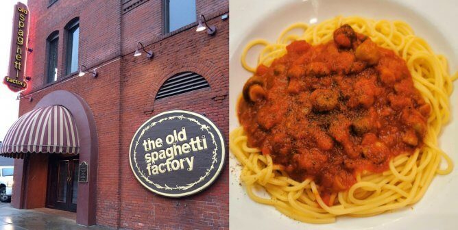 How to Order Vegan at The Old Spaghetti Factory