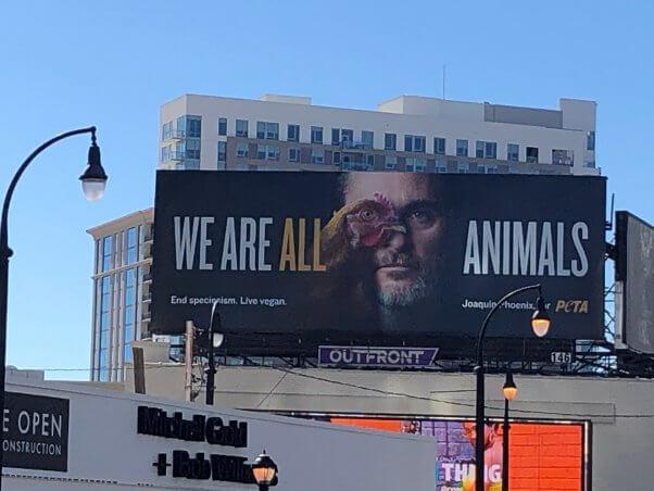 Joaquin Phoenix Billboard in Atlanta