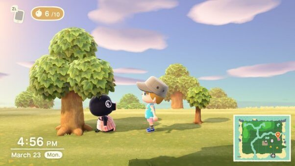 Agnes the pig in animal crossing game