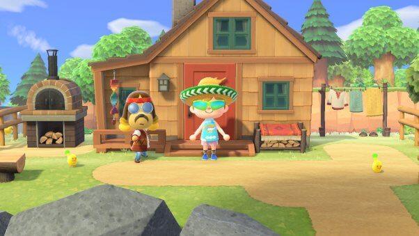 Harvey in Animal Crossing Videogame