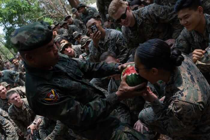"""Jungles are full of fruits and other nutritious, edible plants—so why are U.S. Marines slaughtering snakes, guzzling their blood, and calling it survival """"training""""?"""