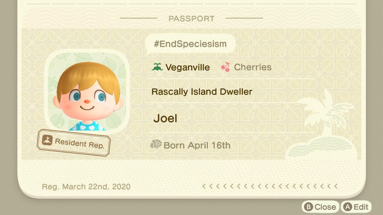 Peta S Vegan Guide To Animal Crossing New Horizons