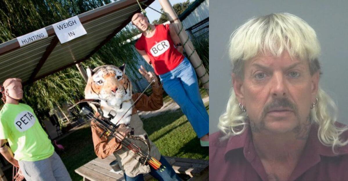 tiger king netflix doc: peta and joe exotic