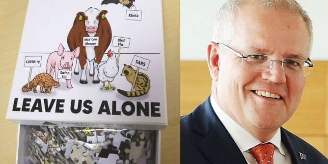 A Puzzling Gift for Australia's Prime Minister