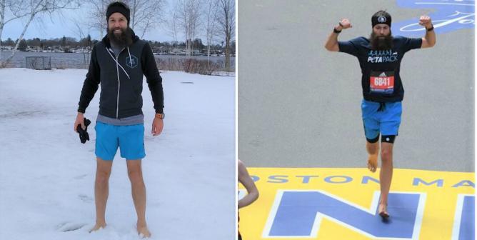 Help This Barefoot Vegan Marathoner Raise $20,000 for 'Backyard Dogs'