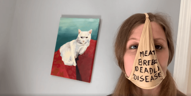 Watch: PETA Shows How to Make a Face Mask Using … Underwear?!