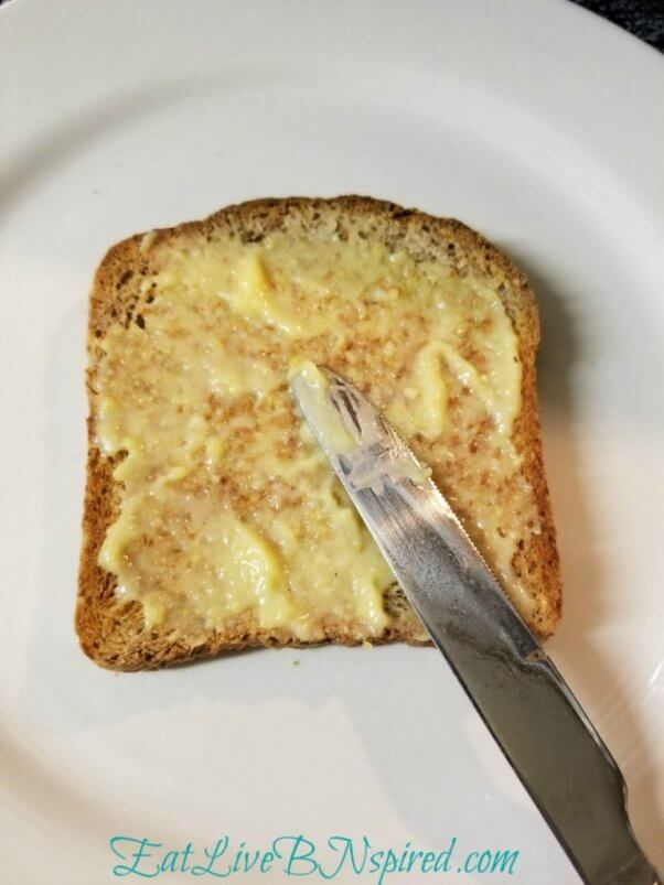 vegan polenta butter