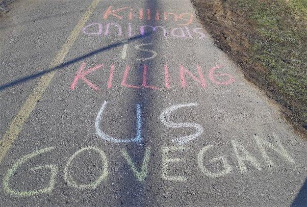Sidewalk Chalk Activism