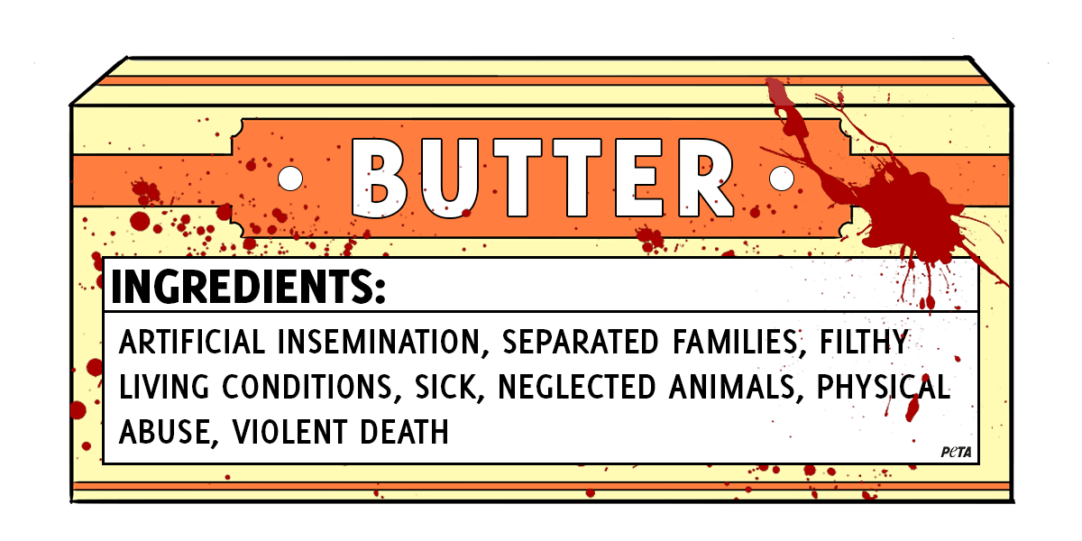 How Butter Is Made And What Butter Labels Don T Reveal Peta