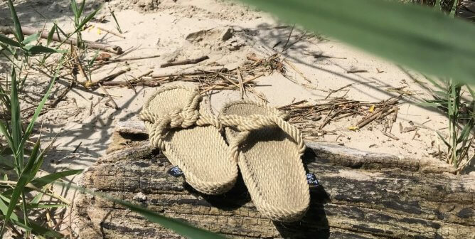 These Comfy, Sustainably Made Sandals Save Animals!