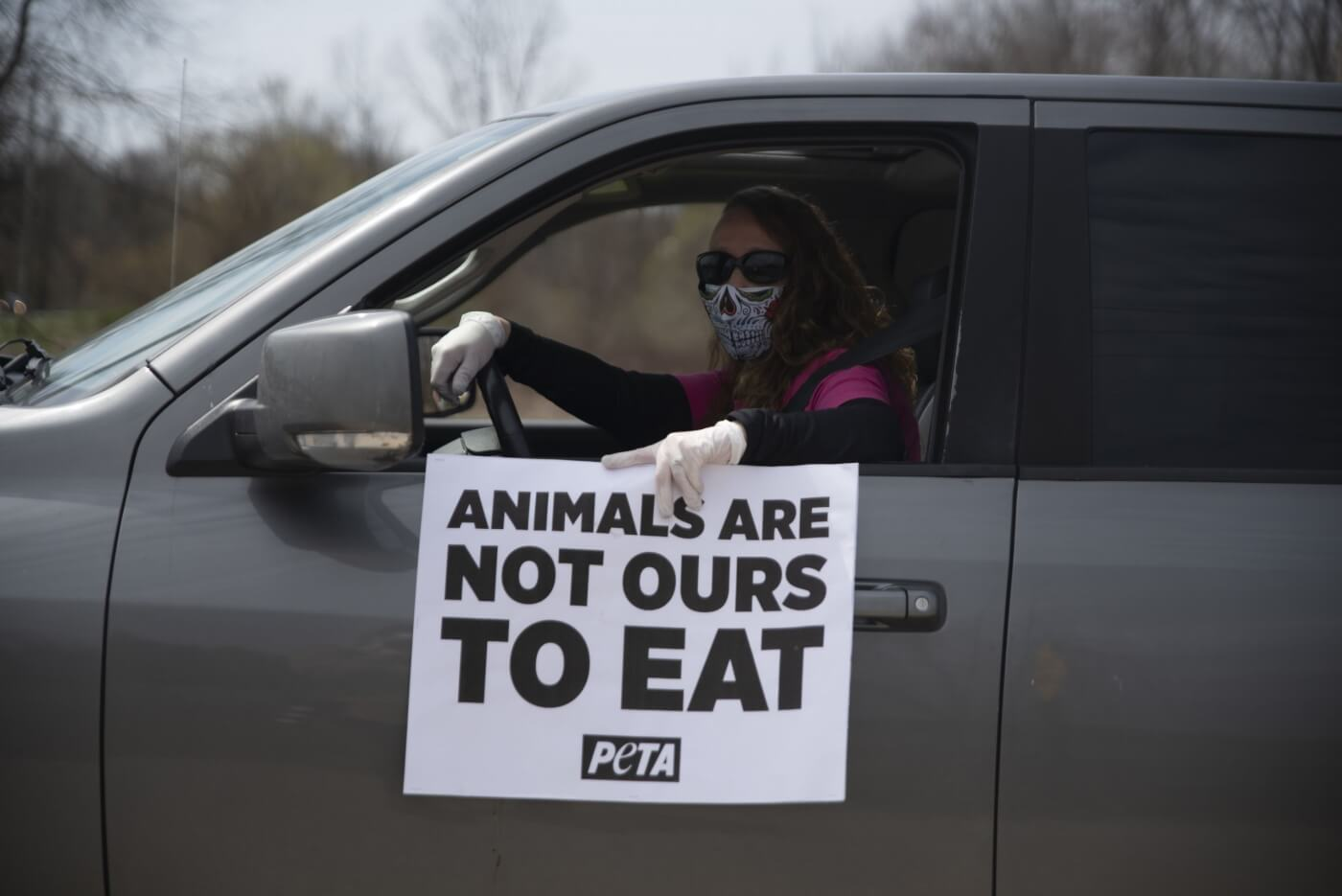 peta's move away from meat ad campaign heats up with nationwide protests